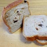 うちの食パン「くるみレーズン」(HB使用)