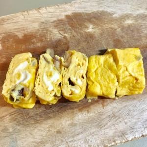 あま〜い甘栗の卵焼き