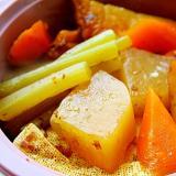 大根と焼き豆腐の煮しめ