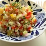 野菜とキヌアのカラフルサラダ♪