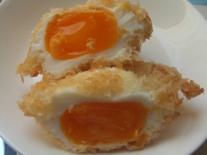 超簡単☆卵のパン粉揚げ