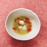 【離乳食後期】鶏団子と白菜と人参のコンソメスープ