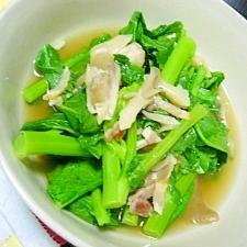 菜花の中華風煮