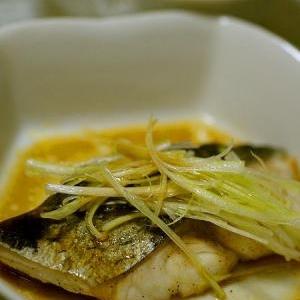 フライパンで作る、魚の紹興酒蒸し