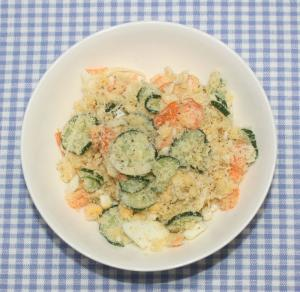 簡単☆ダイエット☆おからパウダーでポテトサラダ