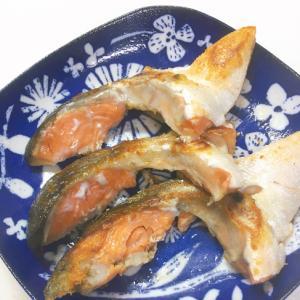 フライパンで簡単☆塩鮭のカマ焼き♪