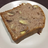 栗の渋皮煮でパウンドケーキ