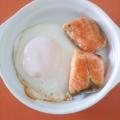鮭&目玉焼き