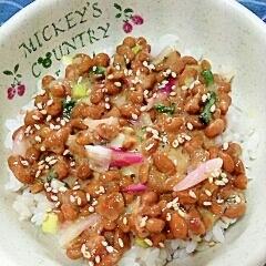 納豆の食べ方-はじかみ♪