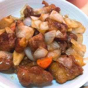 鶏肉でヘルシー☆揚げない酢豚☆ご飯のおともに