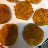 離乳食 後期〜 かぼちゃ・チーズ・ツナのおやき