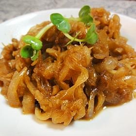 玉ねぎの生姜炒め