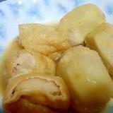 里芋のピーナツバタ-煮
