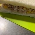 ツナコーンサラダサンドイッチ