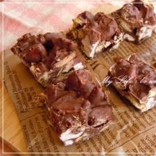 バレンタインに★簡単!チョコクランチ