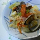 あさりの野菜蒸し