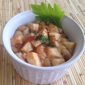 ミートソースリメイク♪イタリアン麻婆豆腐♪