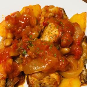 炊飯器で簡単♪ 手羽元のトマト煮込み