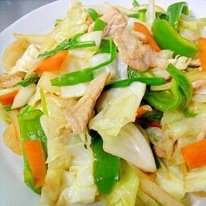 ニラ入り野菜炒め