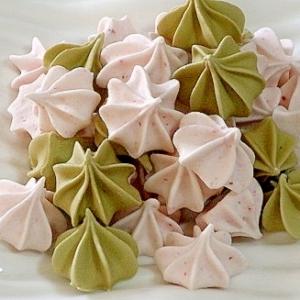 春におすすめ☆ 抹茶の砂糖菓子☆