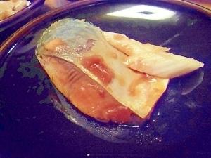 ポリ袋で作る鯖の煮付け