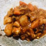 野菜と鶏肉のインドカレー