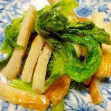 ■10分で..フレッシュ高菜の炒め煮