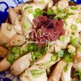 我家の定番・『豆腐とササミふわふわ炒め』