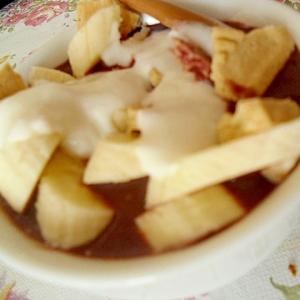 バナナヨーグルトのアサイーボウル