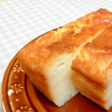 ホットケーキmixで簡単♪ふわふわヨーグルトケーキ