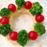 クリスマスに!リースのポテトサラダ