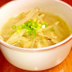 ゴボウと玉ねぎのスープ