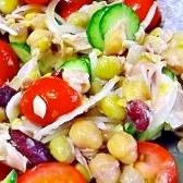 おしゃれで簡単☆豆とツナのサラダ