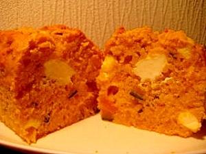 かぼちゃのクリームチーズパウンドケーキ