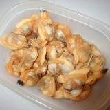 浅利の生姜と味醂醤油煮グリル