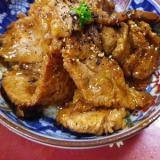 豚ロースの蜂蜜生姜焼き