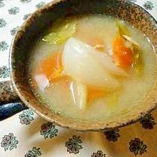 春野菜とツナのスープ