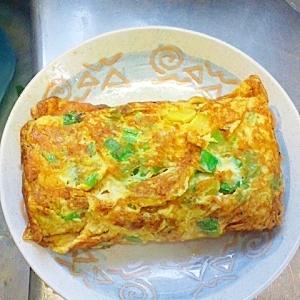 たくわん入りの卵焼き美味しいよ(^v^)