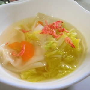 シャンタンワンタンスープ