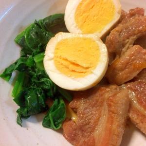 豚バラブロックのマーマレード煮