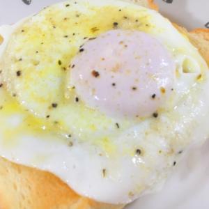 とろーり卵トースト
