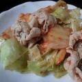 キャベツ入り白菜の豚キムチ