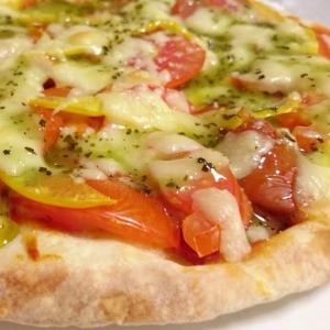市販品のピザをもっと美味しく♪