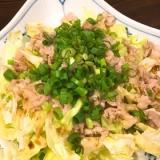 春キャベツと豚肉のサラダ