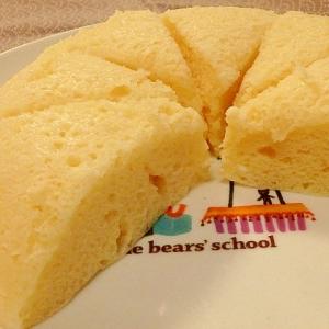 HMとレンジで簡単10分★ヨーグルト蒸しパン