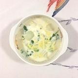 ヤーコン、白菜の豆乳スープ