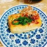 簡単☆フライパンde揚げ出し豆腐