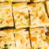 炊飯器で簡単、ホヤニッシュオムレツ