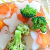 大根とにんじん、ミニトマトとブロッコリーのピクルス