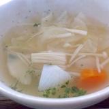 春キャベツの和風スープ
